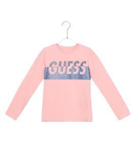 Dievčenské  Tričko detské Guess -  béžová