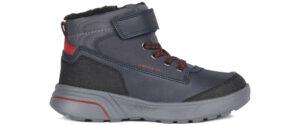 Chlapčenské  Sveggen Členkové topánky detské Geox -  šedá