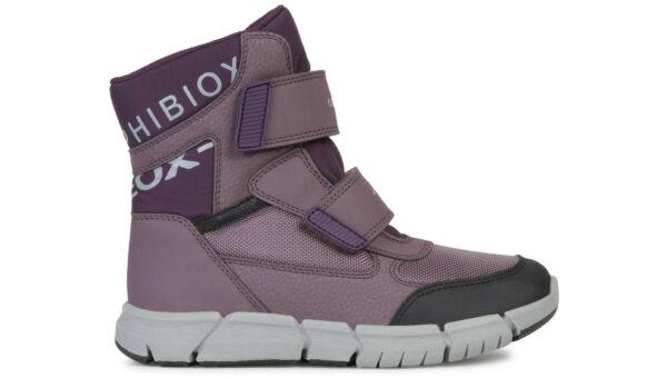 Dievčenské  Flexyper Snehule detské Geox -  fialová