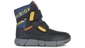 Chlapčenské  Flexyper Snehule detské Geox -  čierna