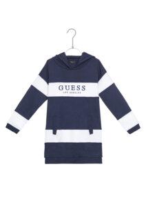 Dievčenské  Šaty detské Guess -  modrá biela