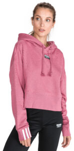 Dámske  Mikina adidas Originals -  ružová
