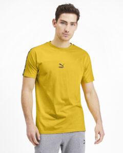 Pánske  XTG Tričko Puma -  žltá