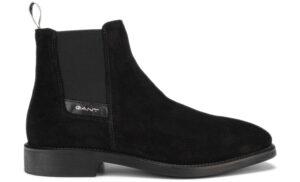 Pánske  James Členková obuv Gant -  čierna