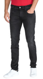 Pánske  Anbass Jeans Replay -  čierna