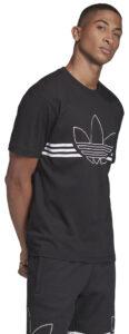 Pánske  Outline Tričko adidas Originals -  čierna