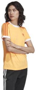 Dámske  3-Stripes Tričko adidas Originals -  žltá