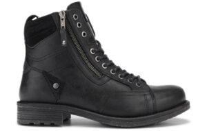 Pánske  Hill Členková obuv Wrangler -  čierna