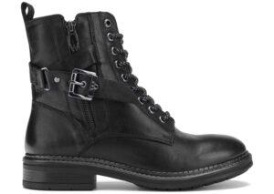 Dámske  Gstaad Lace Členkové topánky Wrangler -  čierna