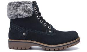 Dámske  Alaska Členkové topánky Wrangler -  čierna modrá