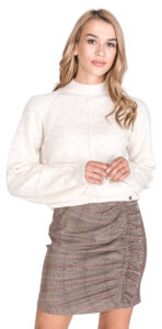 Dámske  Clotilde Sveter Pepe Jeans -  biela