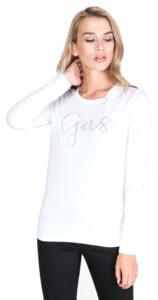 "Dámske  Girl ""Gas"" Tričko GAS -  biela"