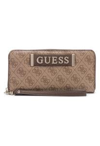 Dámske  Kerrigan Large Peňaženka Guess -  hnedá