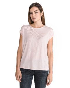 Dámske  Ava Tričko Vero Moda -  ružová béžová