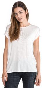Dámske  Ava Tričko Vero Moda -  biela