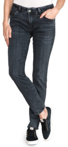 Dámske  New Brooke Jeans Pepe Jeans -  čierna