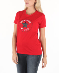 Dámske  Tričko Converse -  červená