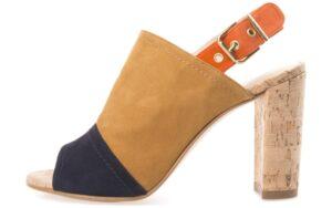 Dámske  Harper Topánky s podpätkom Gant -  hnedá viacfarebná