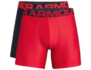 Pánske  Tech™ Boxerky 2 ks Under Armour -  čierna červená