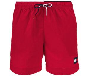 Pánske  Plavky Tommy Hilfiger -  červená