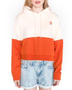 Dámske  Mikina adidas Originals -  béžová oranžová