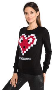 Dámske  Sveter Love Moschino -  čierna