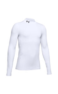 Chlapčenské  ColdGear® Armour Tričko detské Under Armour -  biela