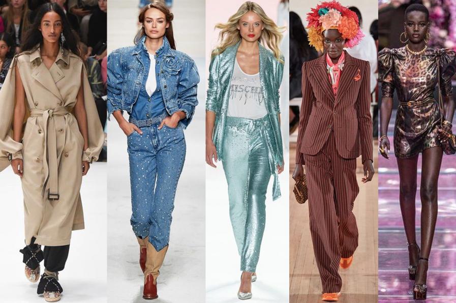 Trendy v nadčasovej klasike na svetových týždňoch módy.
