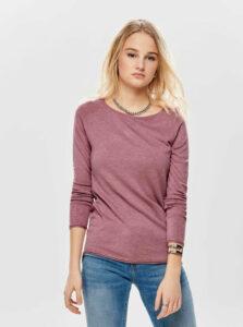 Ružový tenký basic sveter ONLY Mila