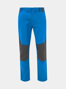 Modré pánske softshellové funkčné nohavice LOAP Ultor