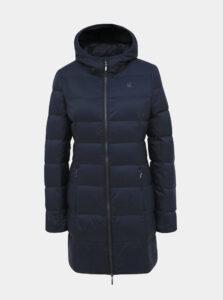 Tmavomodrý dámsky prešívaný zimný kabát LOAP Iprada