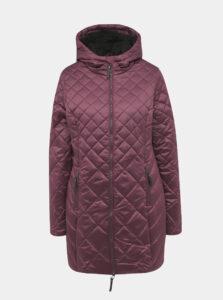 Fialový dámsky prešívaný vodeodpudivý zimný kabát LOAP Tency