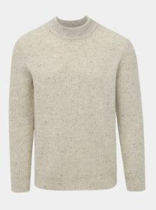 Svetlošedý sveter s prímesou vlny ONLY & SONS Patrick