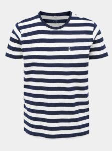 Bielo-modré pruhované tričko Mr. Sailor