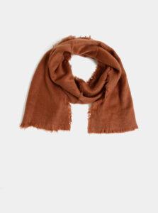 Hnedý dámsky šál Haily´s Nora