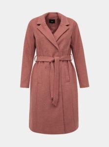 Staroružový kabát s prímesou vlny Zizzi Yolanda
