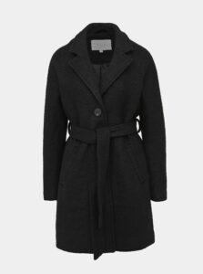 Čierny vlnený kabát VILA