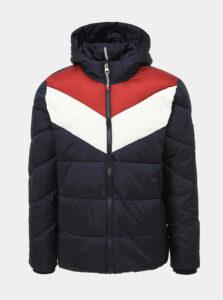 Tmavomodrá zimná bunda Shine Original Killian