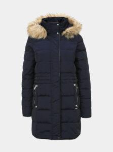 Tmavomodrý dámsky prešívaný kabát VERO MODA Vienna