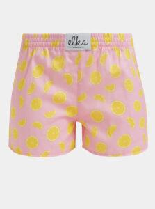 Rúžové dámske trenýrky El.Ka Underwear
