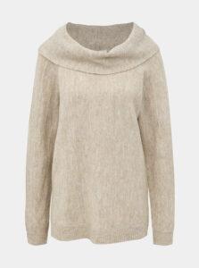 Béžový sveter VILA Calo