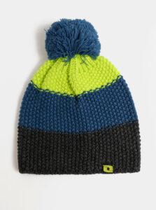 Zeleno-modrá dámska čapica LOAP Zimri