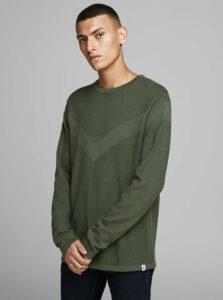 Zelený basic sveter Jack & Jones Moon