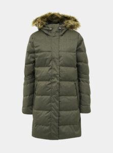 Kaki dámsky prešívaný zimný kabát HELLY HANSEN Aden