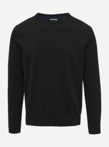 Čierny pánsky basic sveter Tom Tailor