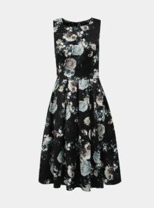 Čierne kvetované šaty Dolly & Dotty Annie