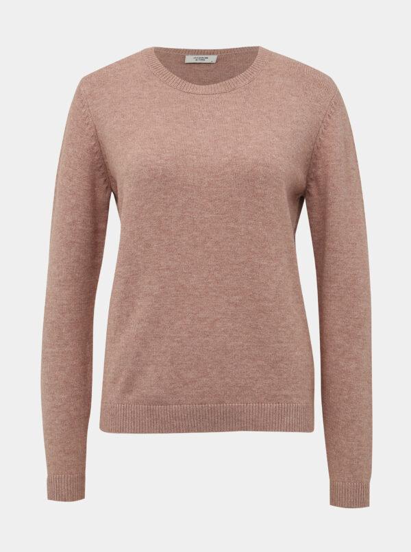 Staroružový basic sveter Jacqueline de Yong Marco