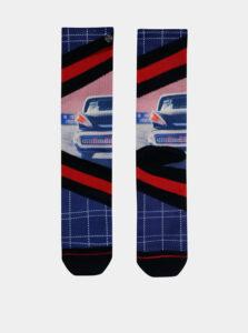 Červeno-modré pánske ponožky XPOOOS