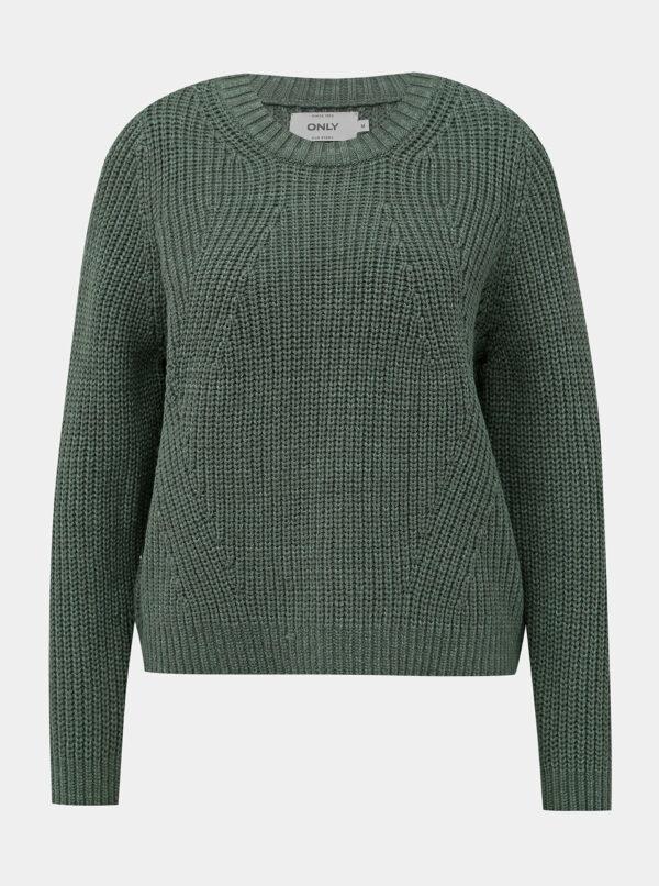 Zelený sveter ONLY Celtina