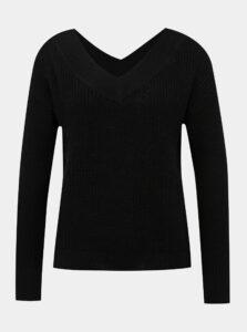Čierny basic sveter ONLY Melton
